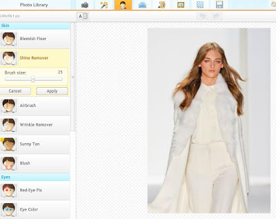 iPiccy lets you edit out blemishes, remove shine and airbrush for nearly perfect photos