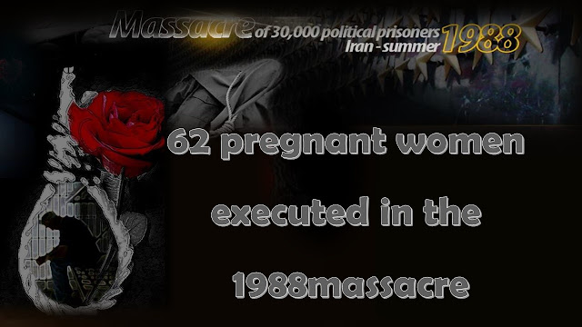 The names of some of the PMOI women who were executed while pregnant by the Iranian regime