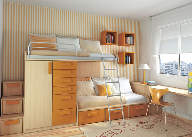 Small Bed Room Design