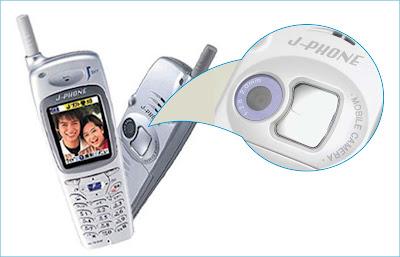 Handphone Pertama yang dilengkapi Kamera