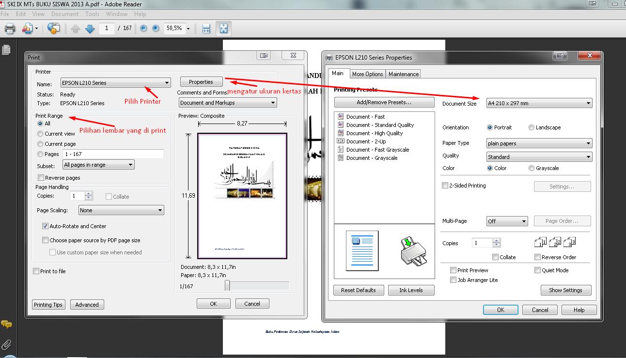 Cara Print Bolak Balik Di Adobe Reader Dengan Printer