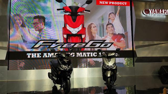 Yamaha FreeGo The Amazing Matic
