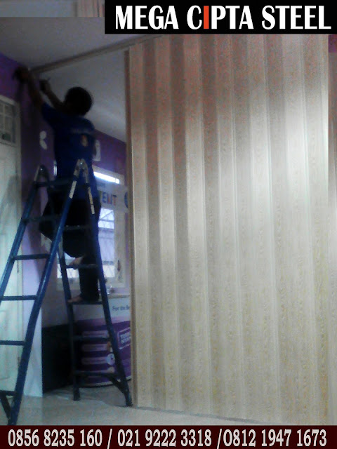 Harga Folding Door PVC Jakarta - Bekasi