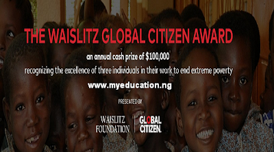 Study Abroad: Waislitz Global Citizen Award 2018, Apply Here
