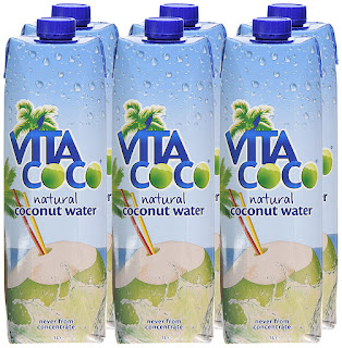 Vitacoco 100% Natural Coconut Water 1 Litre , 6 Pack, Never from concentrate, £13.50