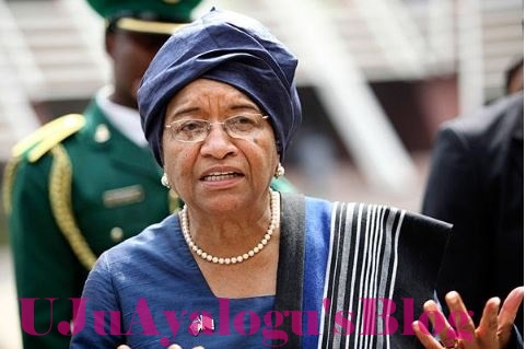 Liberian President, Johnson Sirleaf Bags Highest Title in Imo