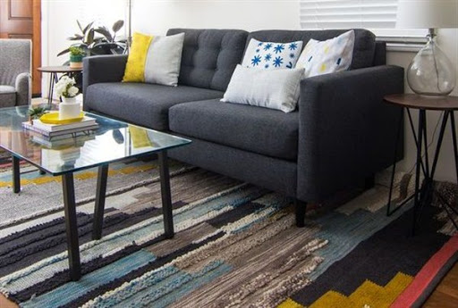 Narrow sofa and sectionals for small space