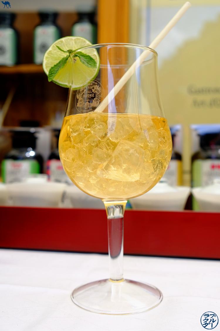 Le Chameau Bleu - Blog Voyage et Gastronomie - Nouveauté chez Mariage Frères : Thé Glacé Tokyo Mojito