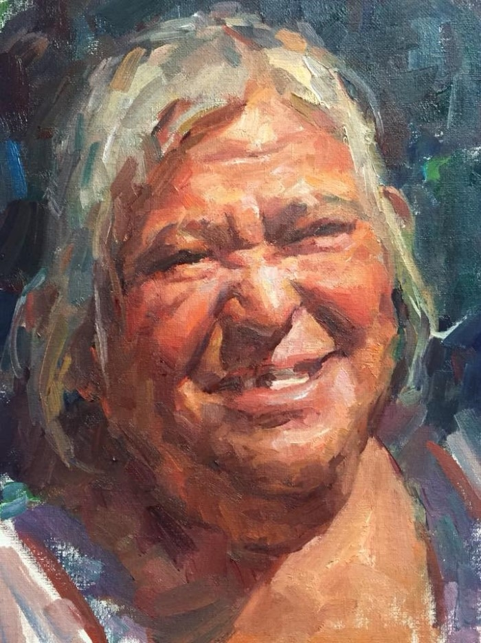 Американский художник. Jerry Salinas