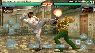 Download Game Tekken 6 PSP Iso Android