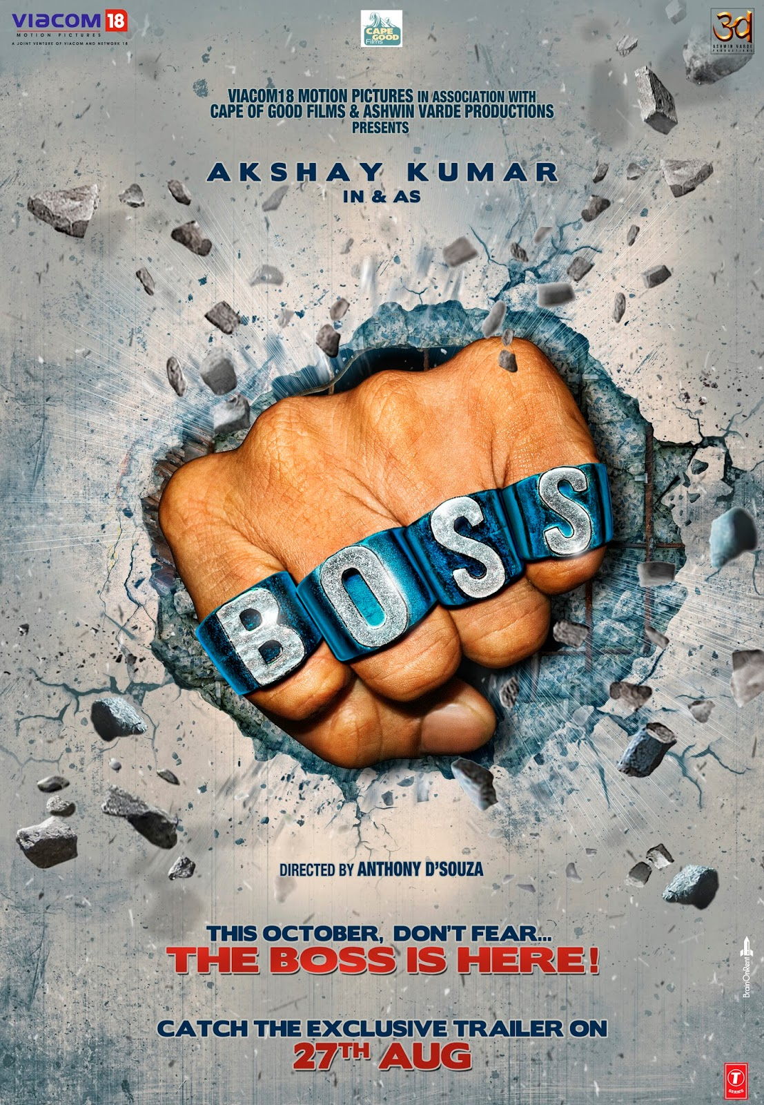 Free Download Boss Movie Wallpapers Full HD | free download wallpaper