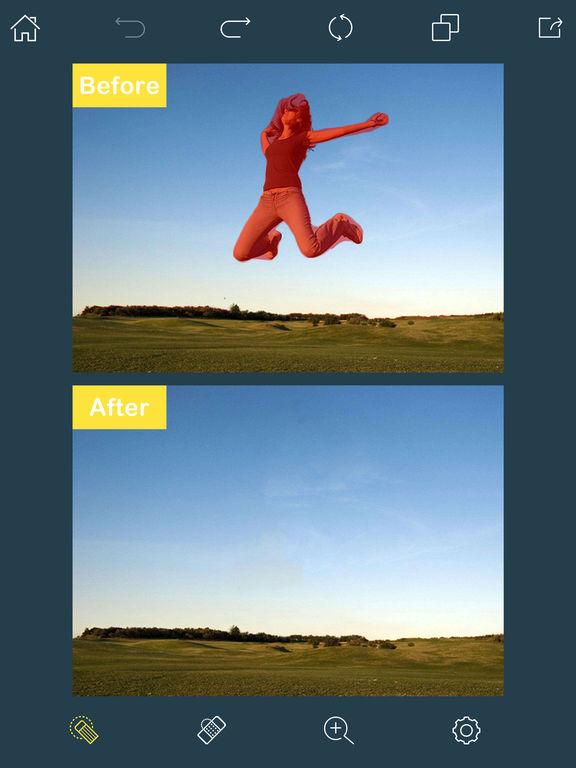 تحميل تطبيق اكثر من رائع لحذف أي عنصر غير مرغوب به من الصور