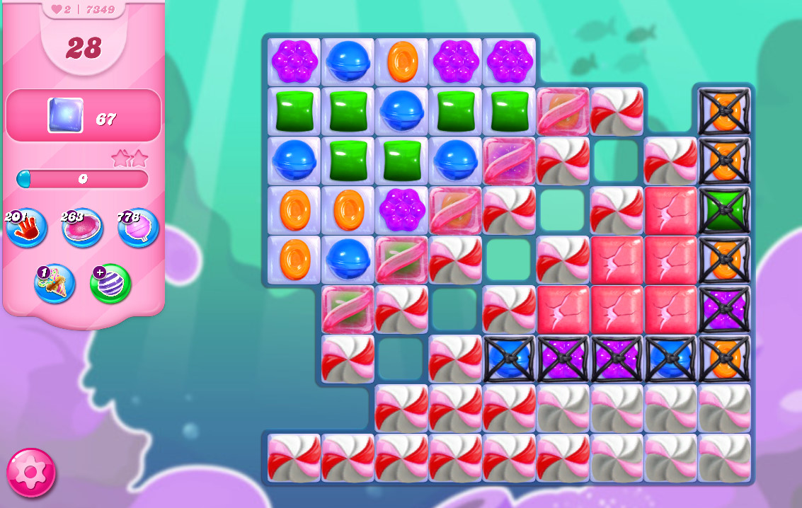Candy Crush Saga level 7349