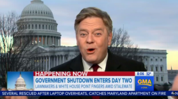 Shutdown Day 2: ABC Trashes Trump/GOP, Blamed by a 'Wide Wide Margin'