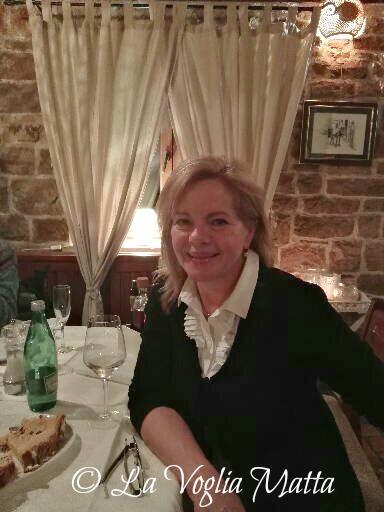 """Fabiana, la titolare della Trattoria """"Bušćina"""""""