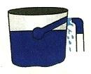Dibujo: Fuga de agua del Tanque elevado