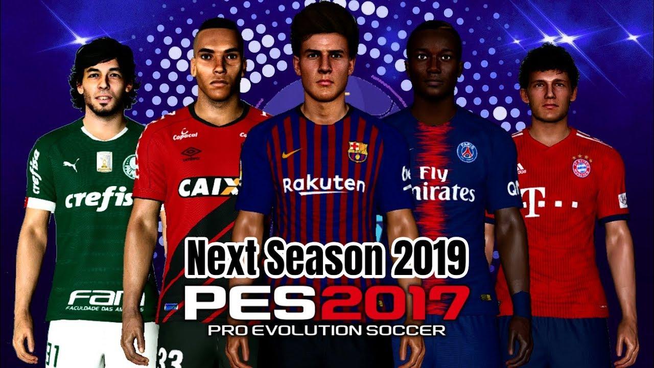 PES 2017 MEGA Update for Next Season Patch 2019 AIO Season