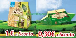 Logo Parmareggio : buoni sconto Snack e burro da stampare