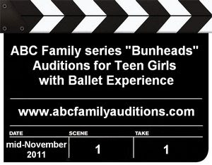 ABC Family Series Bunheads Teen Girls Talent Search