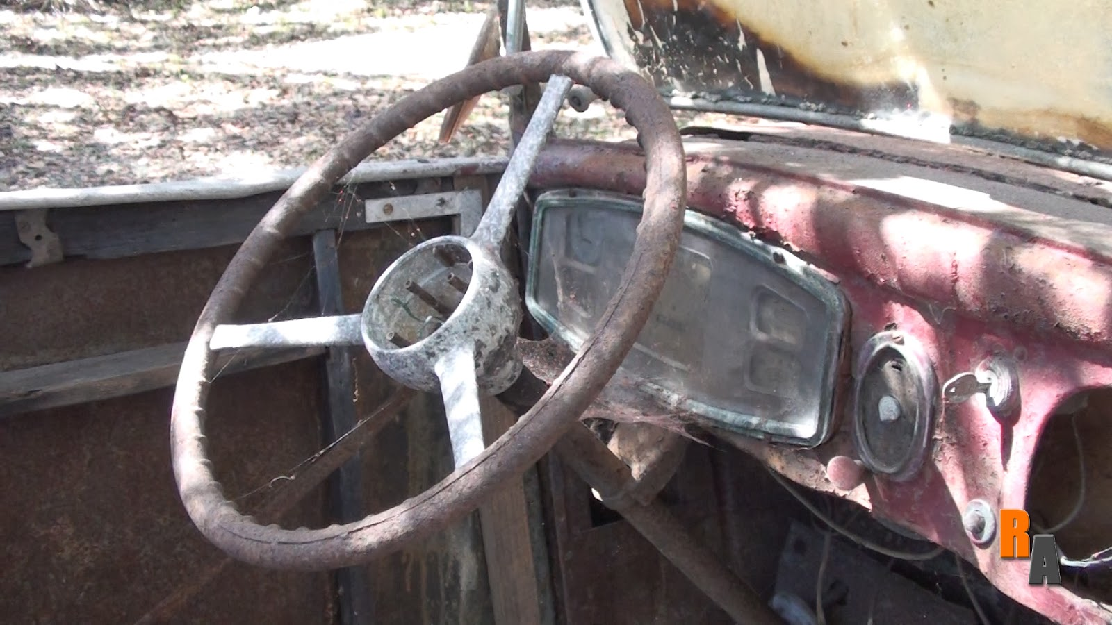 1934 austin 7 central florida abandoned british car