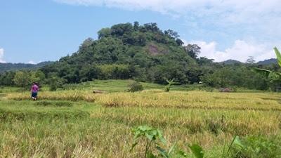 Petilasan Prabu Permana Di Kusumah Di Gunung Padang Darmaraja Sumedang