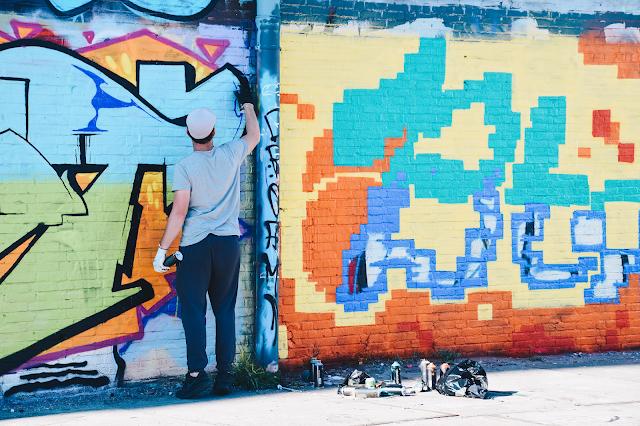 amsterdam noord street art graffiti