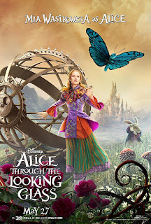 Alice Through the Looking Glass - Posters Especiais & Terceiro Trailer