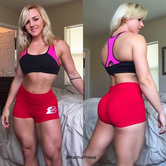 Fitness Model Rachael Frieza Instagram photos