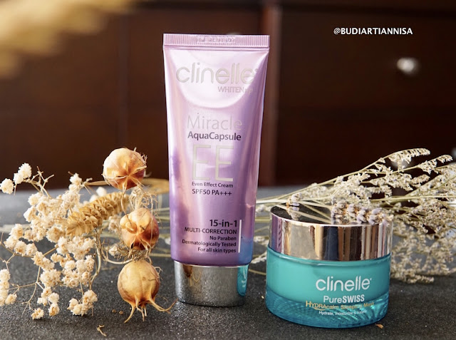 CLINELLE HYDRA CALM SLEEPING MASK