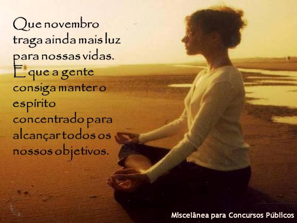 Bom Dia Novembro Seja Bem Vindo