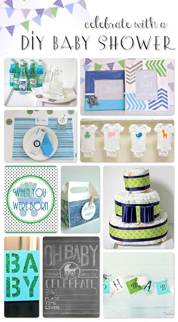 DIY Baby Shower -- find DIY baby shower decorations, gifts, and more with this fun virtual baby shower!