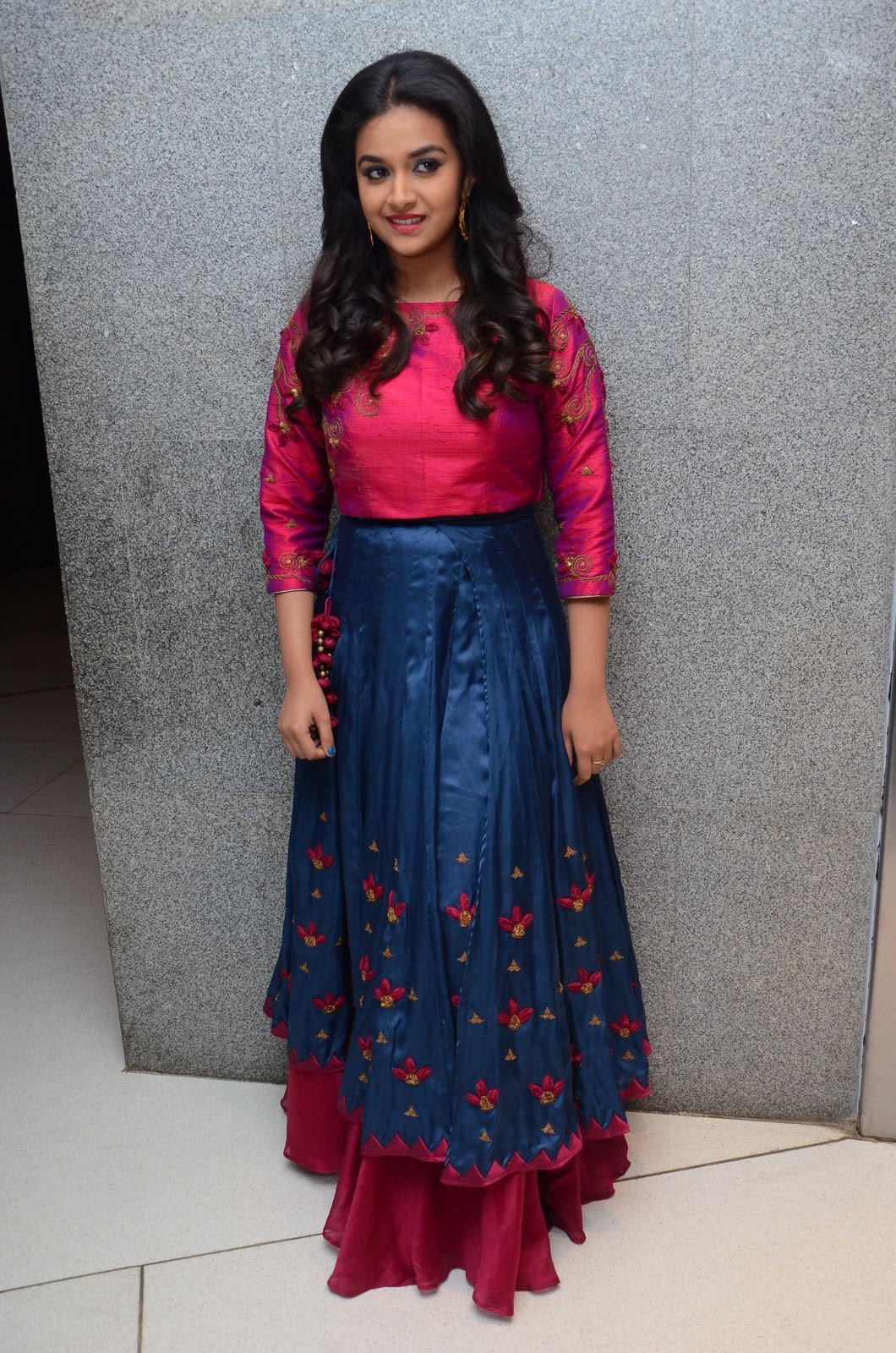 Keerthi Suresh at Remo Success meet-HQ-Photo-8