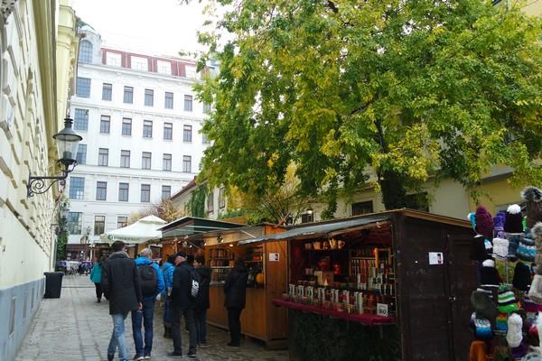 vienne vienna marché Noël weihnachtsmarkt spittelberg