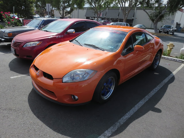 Color change for 2006 Mitsubishi Eclipse from Almost Everything Auto Body.