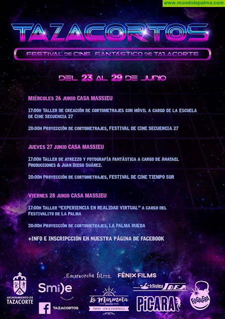 Festival de Cine Fantástico de Tazacorte 2019 - Programa