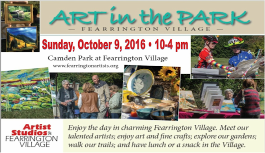 Art in the Park Raindate: Sunday Oct. 9