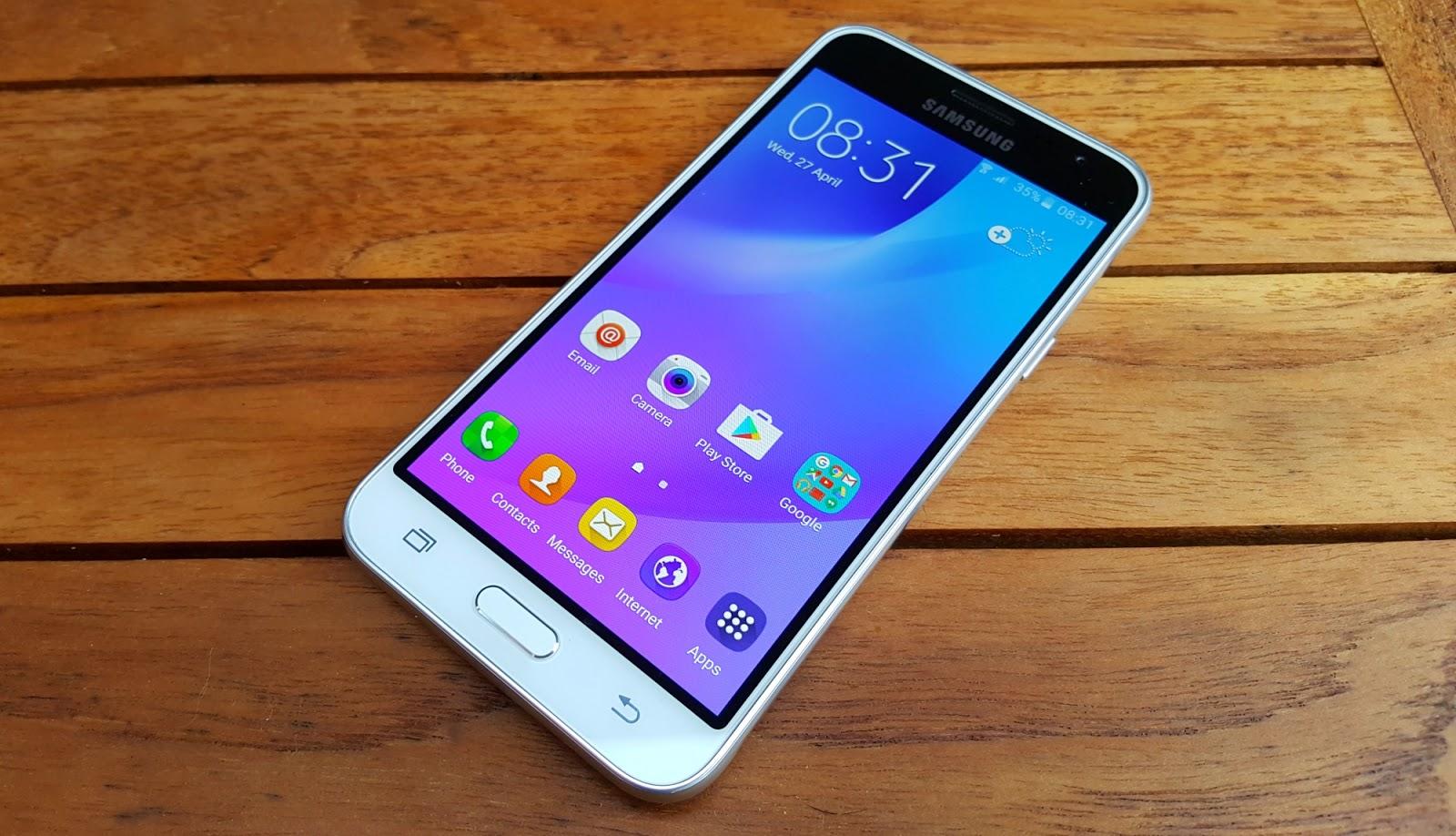 Configurazione iniziale Samsung Galaxy J3 alla prima accensione - primo avvio