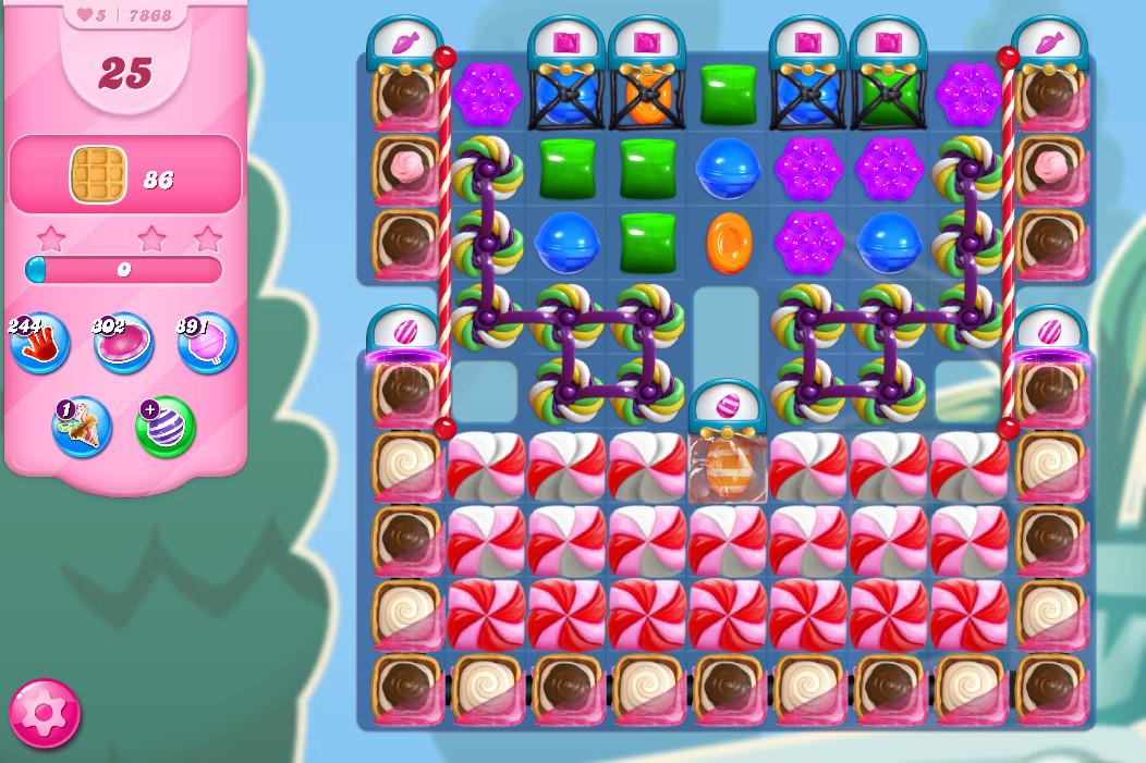 Candy Crush Saga level 7868