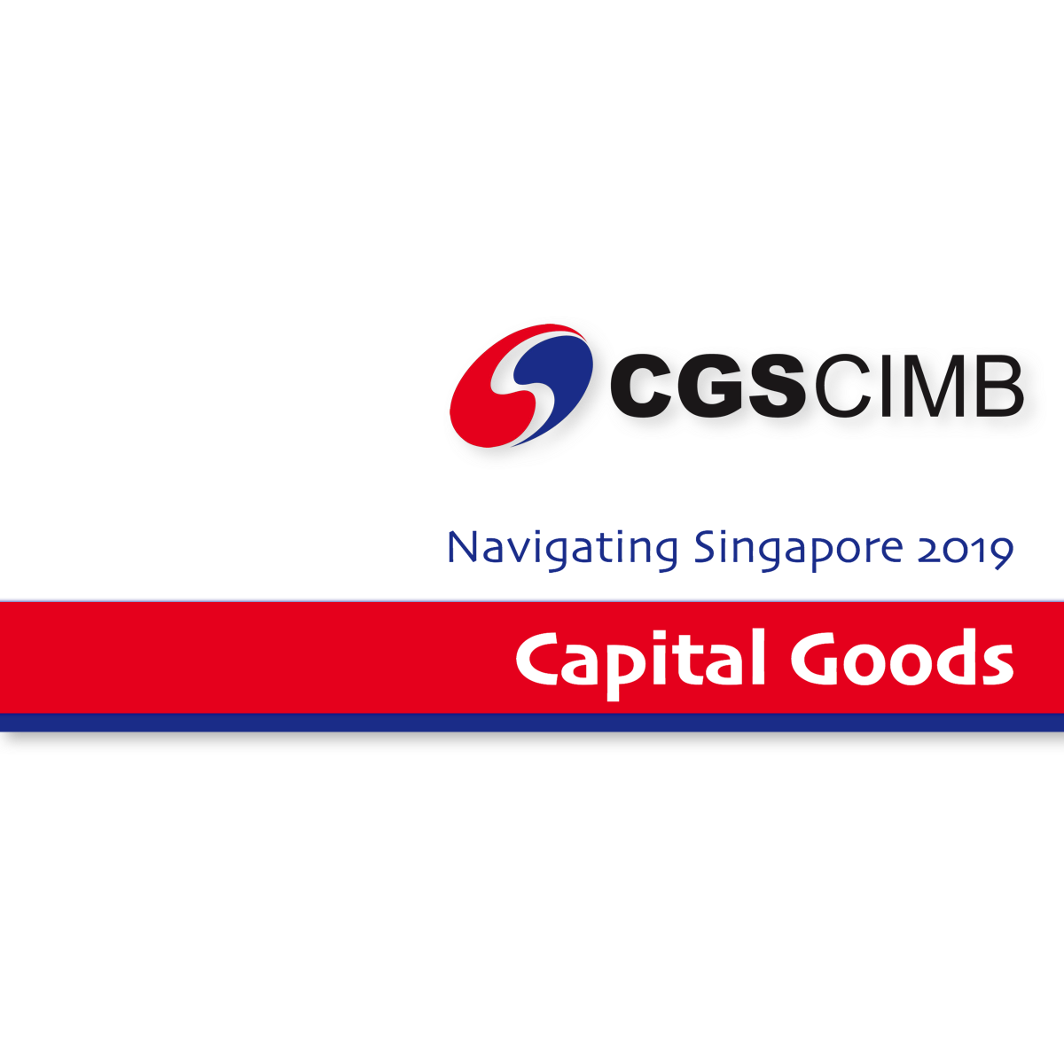 Navigate Singapore 2019 ~ Capital Goods - CGS-CIMB Research | SGinvestors.io