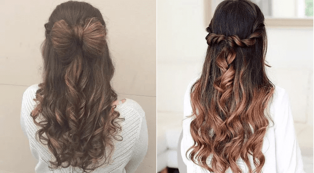 The Half Up-Do