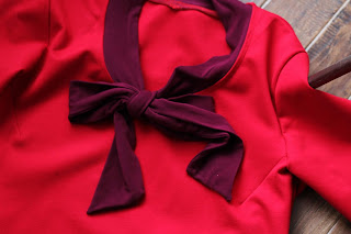 Girls in the Garden: The Little Red Dress Project Holiday Challenge