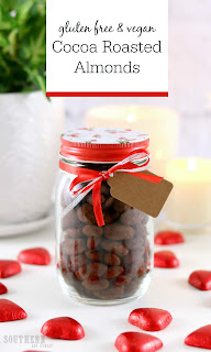 Easy Cocoa Roasted Almonds Recipe