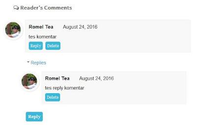 Kotak Komentar Simple Keren Bersih untuk Blogger