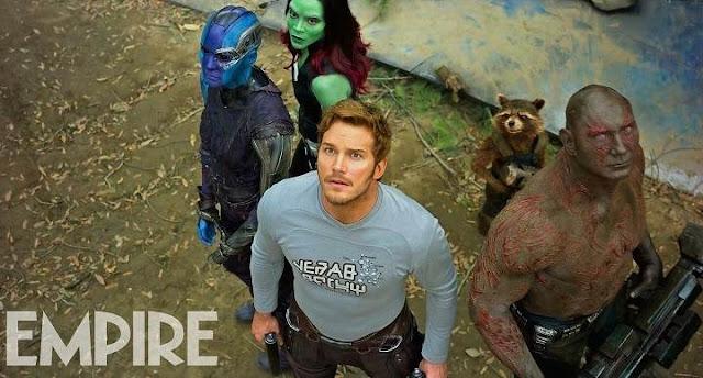 Los Guardianes de la Galaxia en nuevas imágenes