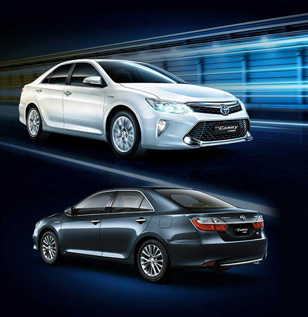 Exterior New Toyota Camry Hybrid