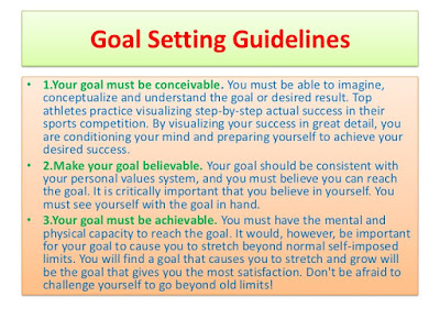 3 Goal Setting Tips For Your Health And Fitness Program : You would not begin or extend a business without an arrangement - an obvious thought of where you need to take your organization and how you propose to arrive. Rather, you would evaluate your income and costs, pick an area for your office, choose your hours of operation, and create techniques to defeat hindrances.