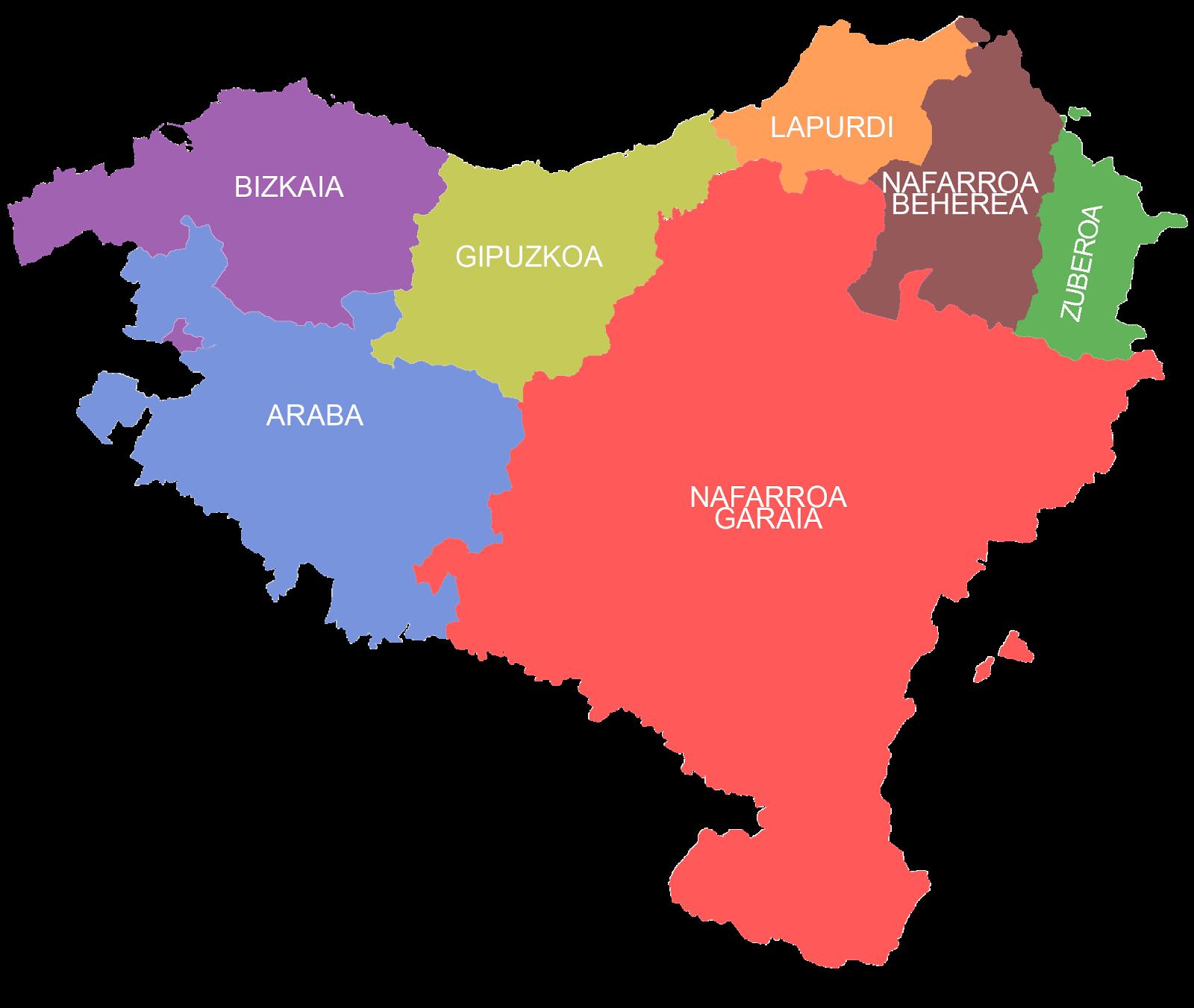 """Resultado de imagen de euskera mapa"""""""