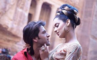Kangana Ranaut with hrithick in roshan krrish 3 movie
