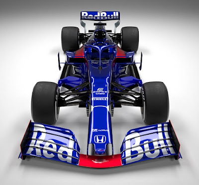Toro Rosso New 2019 Formula 1 car.