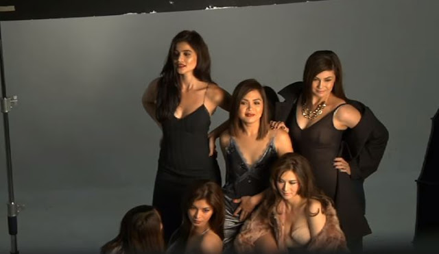 Angel Locsin, Anne Curtis, Judy Anne Santos, Marian Rivera and Charlene Gonzales Altogether In A Photoshoot For Rogue Magazine!